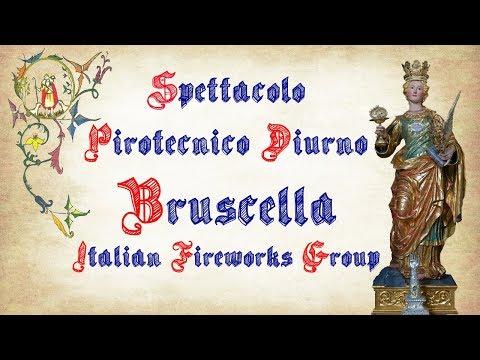 ACICATENA (Ct) - Santa Lucia 2017 - BRUSCELLA Italian Fireworks Group (Diurno 1° Postazione)