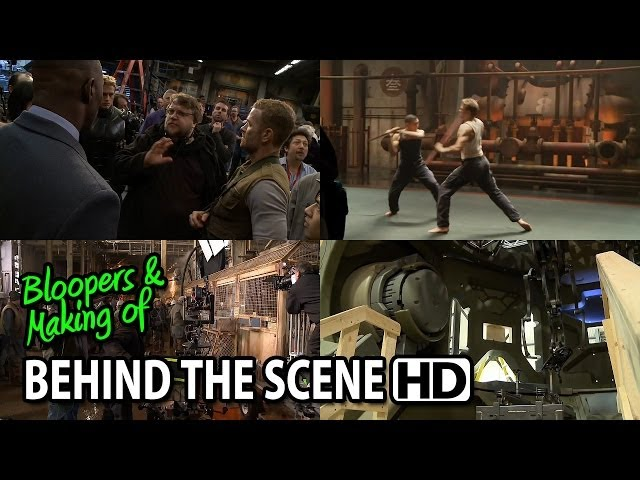 Pacific Rim (2013) Making of & Behind the Scenes (Part1/3)