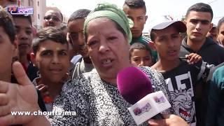 بالفيديو:140 أسرة فكاريان بالبيضاء مهددة بالتشرد..عطاونا الاستفادة و مالك الأرض مبغاش يخرجنا |