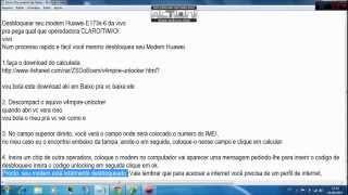 Desbloquear Modem Huawei E173s-6 Da Vivo