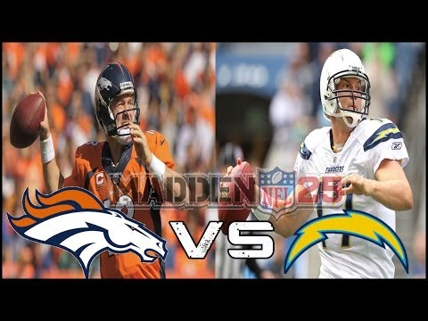 NFL Playoffs: Denver Broncos vs San Diego Chargers - AFC Divisional Playoff Highlights 1/12/14
