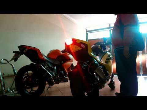 Kawasaki Z250 Yoshimura VS Ninja 250 fi Scorpion Exhaust