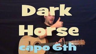 Dark Horse (Katy Perry) Easy Strum Guitar Lesson Chord