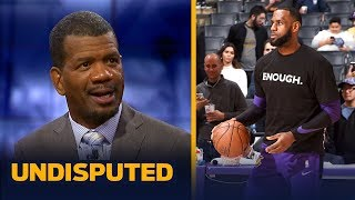 Rob Parker reacts to LeBron saying he almost 'cracked' during this season | NBA | UNDISPUTED