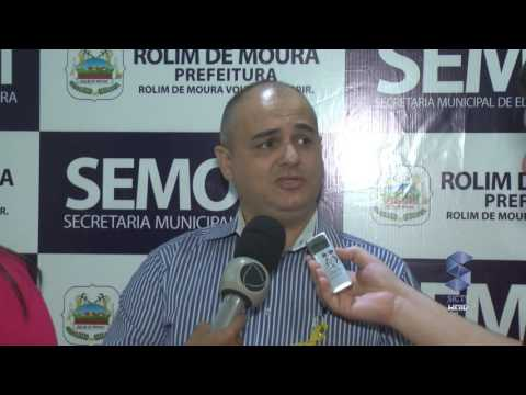 Coletiva de Imprensa Sobre o consignado dos servidores municipais de Rolim de Moura