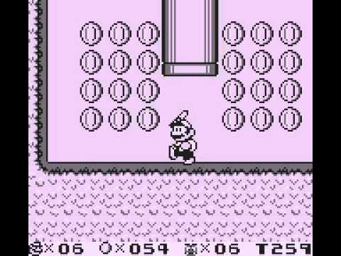 Super Mario Land 2 - 6 Golden Coins - first time playing part 1 - User video