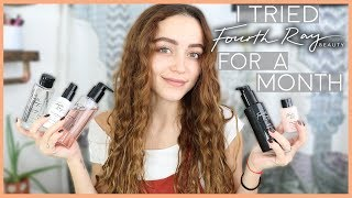 I TRIED FOURTH RAY BEAUTY FOR A MONTH | Skincare Review