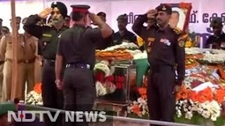 Final farewell to Pathankot martyr Lt Col Niranjan Kumar