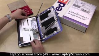 Netbook Screen Repair, How To Replace An LCD Screen On A