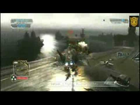 Transformers 2 Revenge of the fallen GamePlay