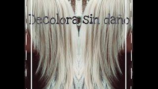 Decolora el cabello a platino sin dañarlo
