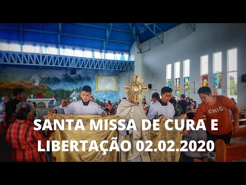 Santa Missa por Cura e Libertação | 02.02.2020 | Padre José Sometti | ANSPAZ