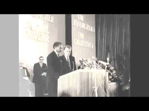 Billy Graham presents HIM Haile Selassie I of Ethiopia - Berlin