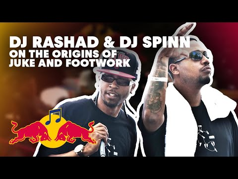 DJ Rashad and DJ Spinn in the mix