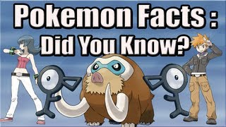 Pokemon Facts: Did You Know? Part 9 - The Mysterious Unown