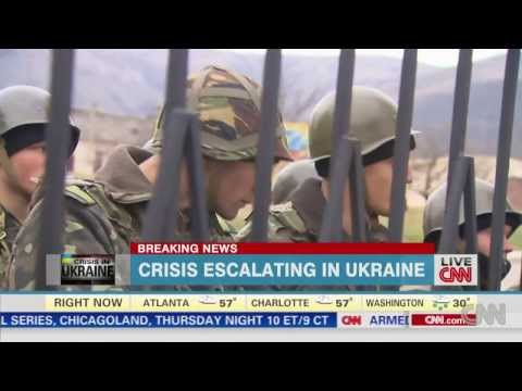 Crisis escalating in Ukraine