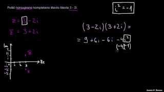 Konjugirano kompleksno število