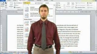 How To Use Section Break In Microsoft Word 2010 (Online
