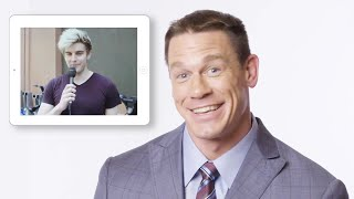 John Cena Answers Questions from Random People | Vanity Fair
