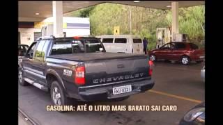 Pre�o de gasolina varia muito em Belo Horizonte