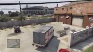 GTA 5: How To Open Truck Back Doors & More (HD)
