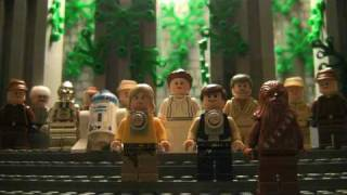 Star Wars 4-6 in 2 Minutes in Legos