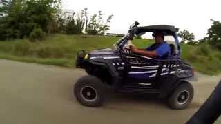 Video 2014 CFMoto ZForce 800EX Vs 2014 Rzr S 800