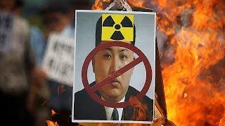مظاهرة في كوريا الجنوبية تندد بالتجربة النووية الخامسة للجارة الشمالية |