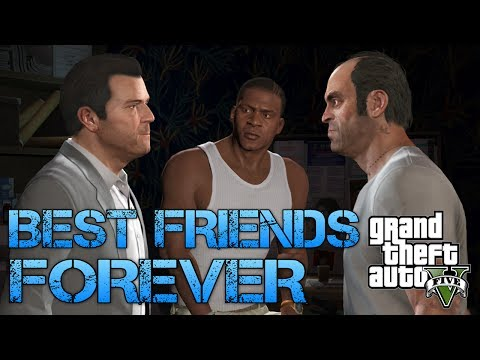Grand Theft Auto V | BEST FRIENDS FOREVER | Survive to the top of Chiliad
