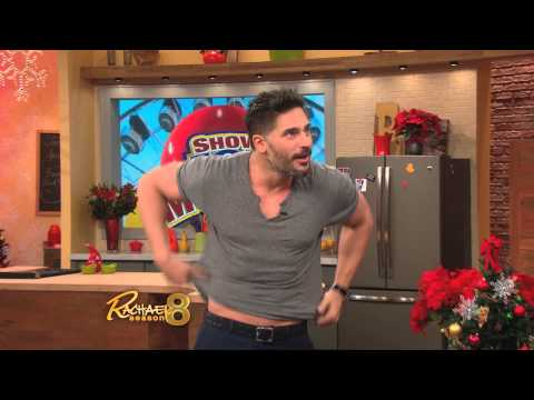 Joe Manganiello visits Rachael Ray and Regis Philbin