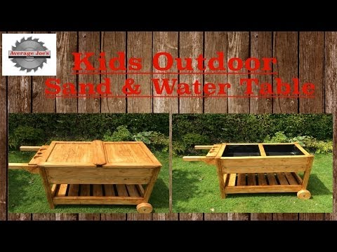 Kids Outdoor Sand & Water Table