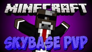 Minecraft SKYBASE PVP Server Minigame