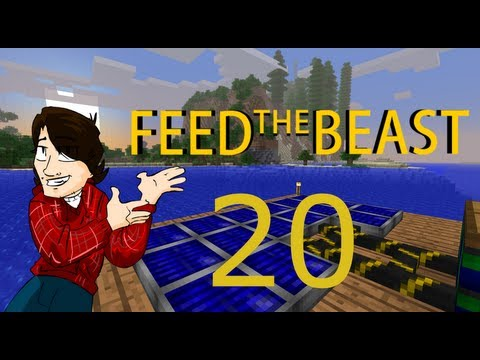 Minecraft Feed The Beast! [EP20 - AFK Iridium!]