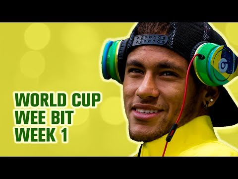 Neymar, J-Lo and Brilliant Beards // World Cup Wee Bit 1