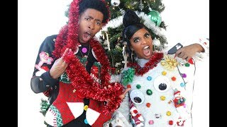 HILARIOUS BF VS. GF UGLY CHRISTMAS SWEATER CHALLENGE!!!