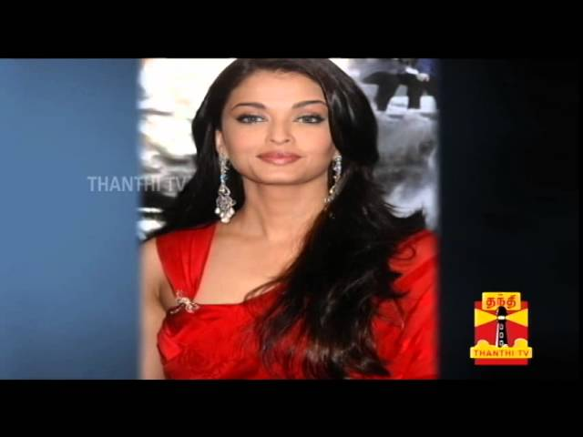 Aishwarya Rai Confirms Acting in Manirathnam's Film - Thanthi TV