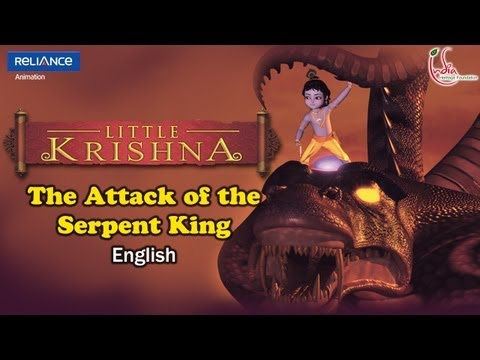 01_0101ENG LITTLE KRISHNA EPISODE 01 &quot;ATTACK OF SERPENT KING&quot; ENGLISH