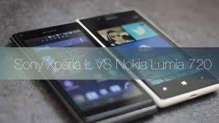 Nokia Lumia 720 Vs Sony Xperia L