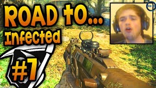 """OUT IN THE OPEN!"" - Road To - KEM Infected #7 LIVE w/ Ali-A! - (Call of Duty: Ghost Gameplay)"