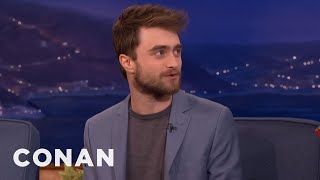 Daniel Radcliffe Visited The Harry Potter Museum  - CONAN on TBS