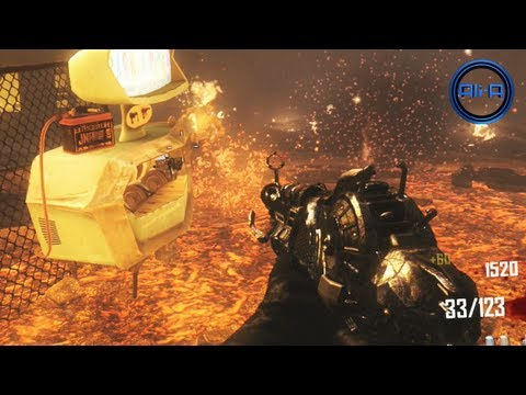 "NEW ""Ray Gun Mark 2"" Pack-A-Punch! - Black Ops 2 Zombies Gameplay! (Porter's Mark 2 Ray Gun)"