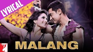 Malang Song With Lyrics DHOOM:3