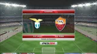 S.S. Lazio Vs AS Roma PES 2014 (Pro Evolution Soccer 2014