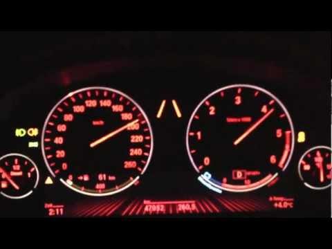 BMW 535d F10 0-200 Km/h Acceleration