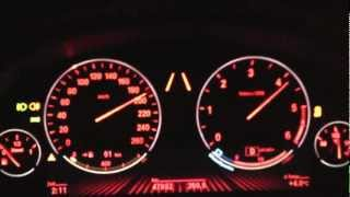 BMW 535d F10 0-200 Km/h Acceleration