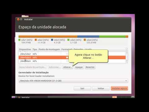 Como instalar o Ubuntu 10.10 em dual-boot com o windows 7