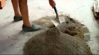 Como hacer mortero manualmente