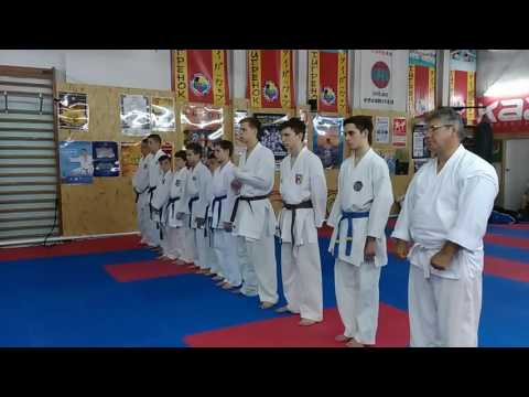 Аттестационный экзамен по каратэ на коричневые и чёрные пояса. Оглашение результатов. Экзамен 26.06.16