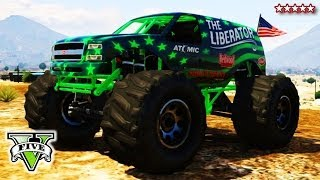 GTA 5 LIBERATING Mount Chiliad Epic GTA Online Monster