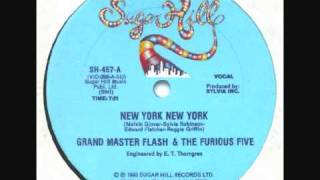 Grandmaster Flash - New York New York.
